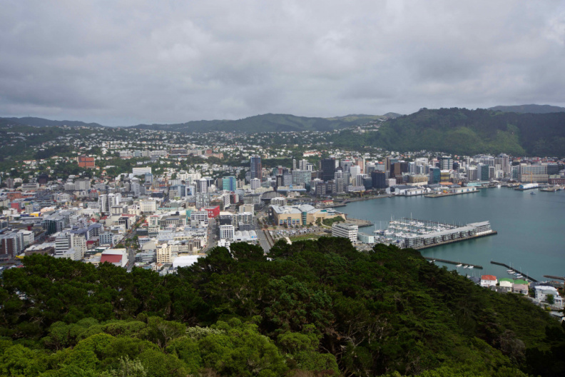 Wellington, from the Mount Victoria lookout