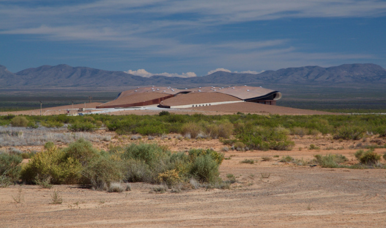 'Spaceport America', New Mexico